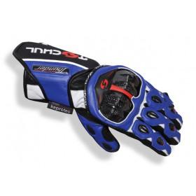Tschul 250 kožené rukavice modré