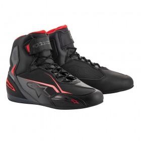ALPINESTARS FASTER-3 BLACK GREY RED topánky