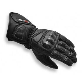 Tschul 212 kožené rukavice čierne