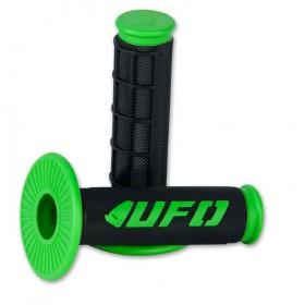 UFO CHALLENGER gripy enduro-motokros čierno-zelené