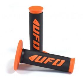UFO CHALLENGER gripy enduro-motokros čierno-oranžové