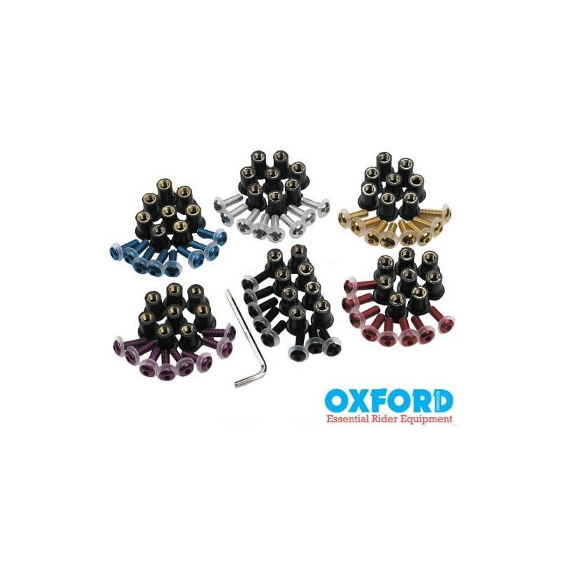 Farebné skrutky na kapotáž Oxford