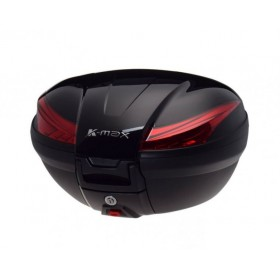 TOP CASE zadný kufor K-MAX 50L čierny lesklý