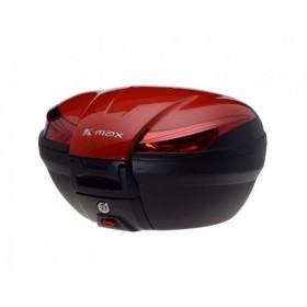 TOP CASE zadný kufor K-MAX 50L červený