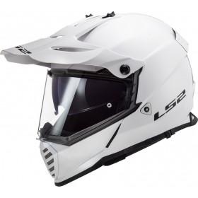Prilba LS2 MX436 PIONEER EVO SOLID white