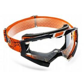 NAXA G1/E oranžové motokrosové okuliare