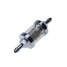 Palivový filter METAL CHRÓM 6,5mm