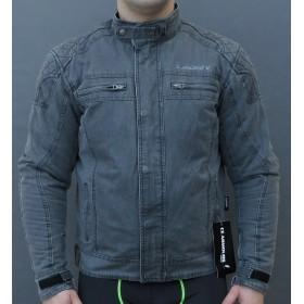 LEOSHI VINTAGE WAX COTTON bavlnená motobunda s chráničmi
