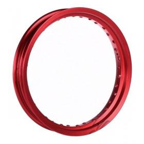 AWINA 17x3,50 hliníkový ráfik červený