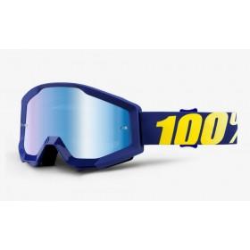 100 PERCENT STRATA HOPE motokrosové okuliare s modrým zrkadlovým sklom