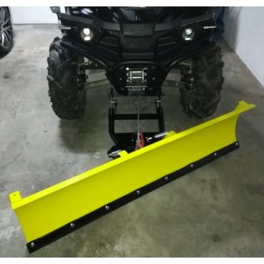 Snežná radlica STELS GUEPARD predná montáž 150cm, žltá CLICK&GO