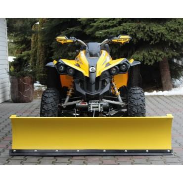 Snežná radlica CAN AM RENEGADE 800 predná montáž G1 150cm, žltá CLICK&GO