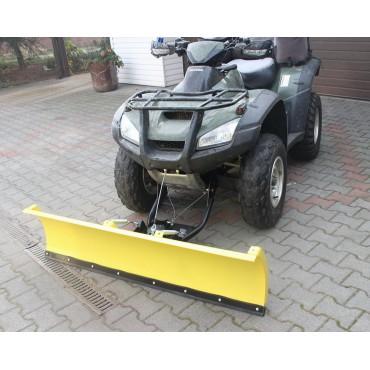 Snežná radlica HONDA RINCON 650 680 predná montáž 150cm, žltá CLICK&GO