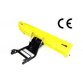 Snežná radlica SUZUKI KINGQUAD 700, 750 predná montáž 150cm, žltá CLICK&GO