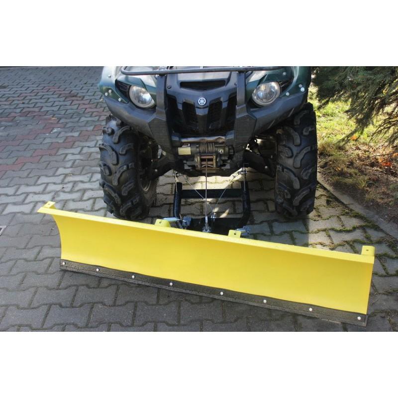 Snežná radlica YAMAHA GRIZZLY 700 predná montáž 150cm, žltá CLICK&GO