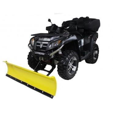 Snežná radlica CF MOTO X8 800 TERRALANDER V-TWIN predná montáž 150cm, žltá CLICK&GO