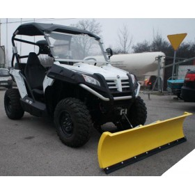 Snežná radlica UTV CF MOTO Z6 TERRACROSS 625 EX predná montáž 150cm, žltá CLICK&GO