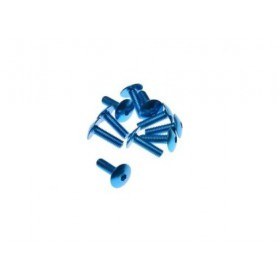 Ozdobné skrutky na kapotáž 6x20 modré 10ks