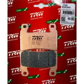 MCB703SV TRW predné brzdové doštičky