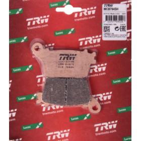 MCB784SH TRW zadné brzdové doštičky