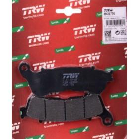 MCB776 TRW predné brzdové doštičky