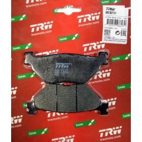 MCB731 TRW zadné brzdové doštičky