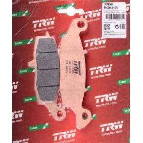 MCB681SV TRW predné brzdové doštičky