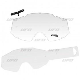 UFO CLEAR LENS 10ks strhávačiek pre okuliare MYSTIC