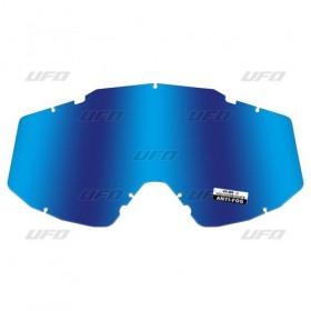 UFO CLEAR LENS modré zrkadlové plexi pre okuliare MYSTIC