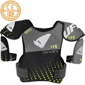 UFO SHAN CHEST GRIGIO motokrosový chránič hrudníka a ramien