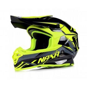 NAXA C9/M YELLOW motokrosová prilba