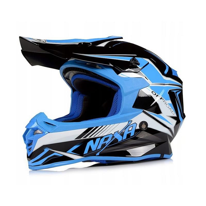 NAXA C9/H BLUE motokrosová prilba