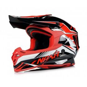 NAXA C9/G red motokrosová prilba
