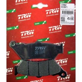 MCB 671 TRW brzdové doštičky