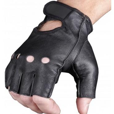 Adrenaline SHORT kožené bezprstové rukavice