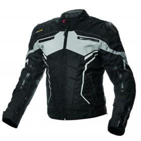ADRENALINE SCORPIO PPE BLACK pánska športová textílna motobunda