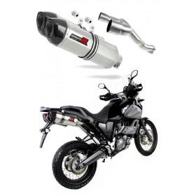 Výfuky DUAL Yamaha XT 660Z TENERE 2008-2016 DOMINATOR HP1