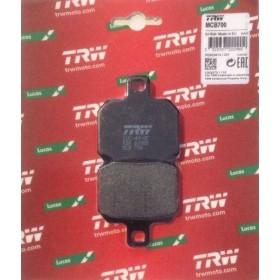 MCB700 TRW brzdové doštičky