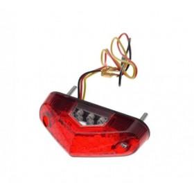 Zadné univerzálne LED svetlo SPORT RED s osvetlením ŠPZ