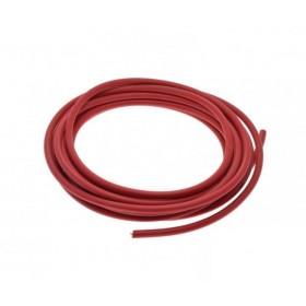 Vysokonapäťový zapaľovací kábel sviečky - červený 1m
