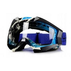 NAXA G1C modré motokrosové okuliare