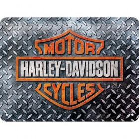 HARLEY DAVIDSON plechová tabuľa 15x20 HD DIAMOND PLATE 26250