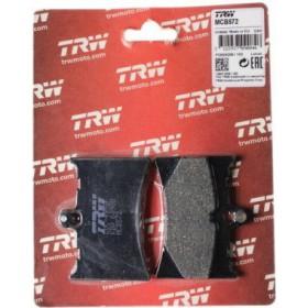 MCB572 TRW brzdové doštičky