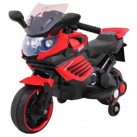 Elektrická motorka SUPERBIKE červená