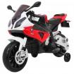 Detská elektrická motorka BMW S1000RR červená