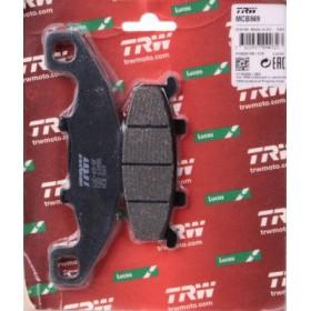 MCB569 TRW brzdové doštičky