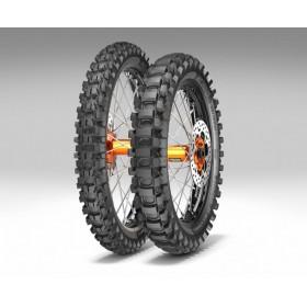 100/90-19 METZELER MC360 MID HARD 57M TT M/C MST zadná pneumatika