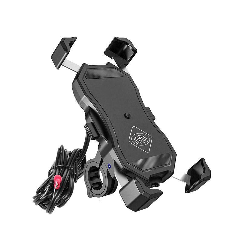 eXtreme R13W Wireless - USB QC - 2in1 držiak telefónu s bezdrôtovým nabíjaním