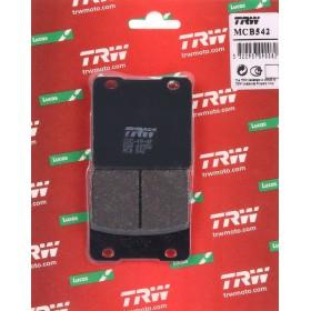 MCB542 TRW brzdové doštičky