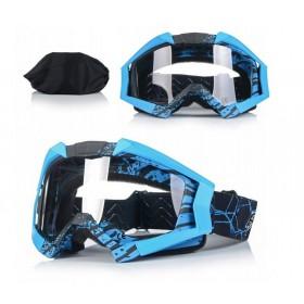 NAXA G3F ANTIFOG BLUE - motokrosové okuliare
